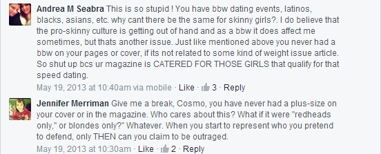 cosmo comments